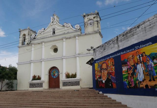 Church in Santa Rosa de Lima