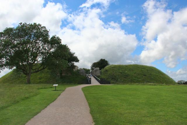 The front of the fort at Old Sarum