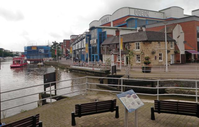 The waterfront in Lincoln