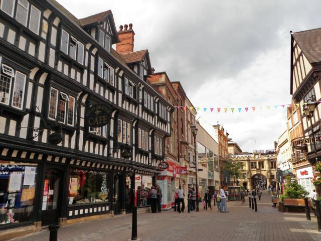 One of the main touristy areas in Lincoln