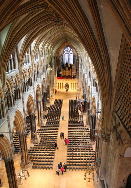 Inside Lincoln Cathederal